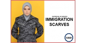 IMMIGRATION SCARVE (M)